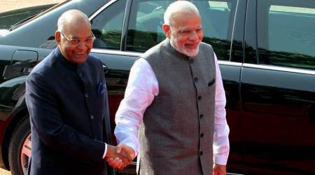 PM Narendra Modi greets President Ram Nath Kovind on his 73rd birthday