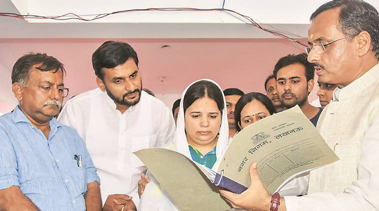 Uttar Pradesh govt appoints Vivek Tiwari's wife as OSD in Lucknow civic body