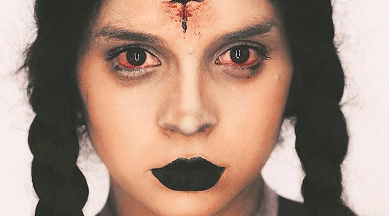 halloween, halloween makeup, mumbai makeup artist, youtube, learning from youtube, art and lifestyle, fashion, indian express