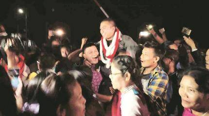 Arrested Manipur University teachers and students released, FIRdropped