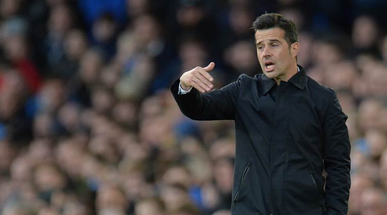 Image result for Everton boss Silva tempers expectations ahead of Man United clash
