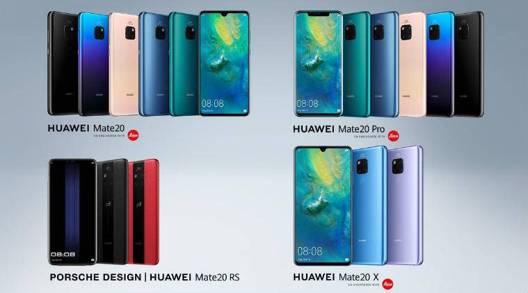 Huawei Mate 20 Huawei Mate 20 Pro Huawei Mate 20x Watch Gt Launched