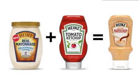 mayochup, heinz sauce, mayonnaise and tomato ketchup combo, heinz fry sauce, what is mayochup, heinz latest sauce, indian express news, indian express