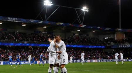 Kylian Mbappe sparks two-goal rally as France hits back against Iceland