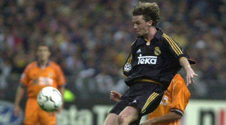 Steve McManaman in action for Real Madrid