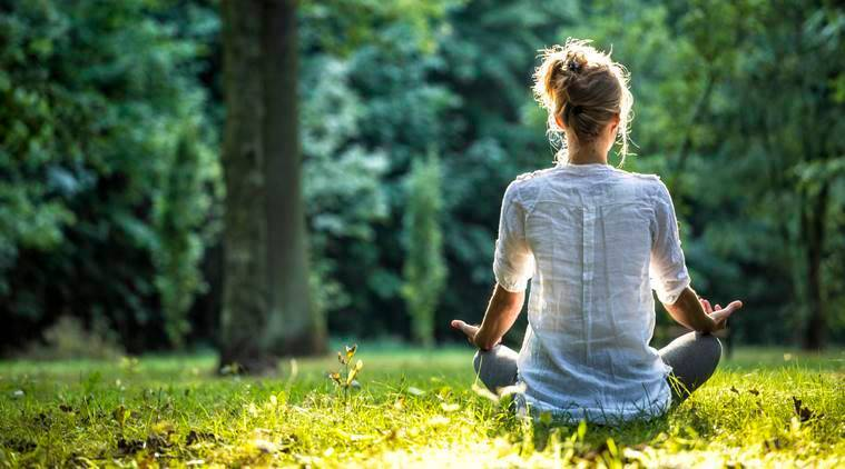 workplace health, workplace stress, exercise benefits, meditation, benefits of meditation, meditation and stress, health benefits of meditation, workplace meditation, indian express, indian express news