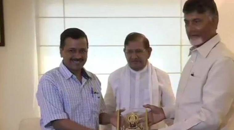 Image result for chandra babu meets national leaders