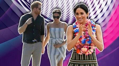 meghan markle, meghan markel recent photos, meghan markle prince harry australia photos, meghan markle pregnancy, indian express, indian express news