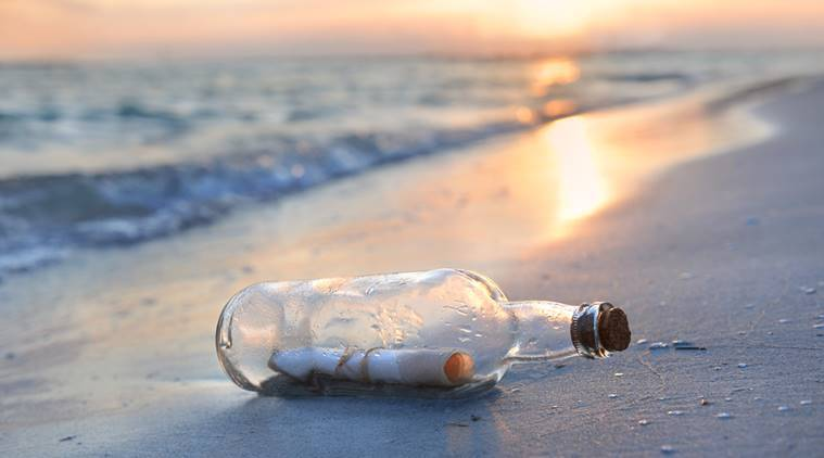 Chinese sailor's love letter, couple finds message in a bottle, chinese sailor's message letter, china, war, marriage,
