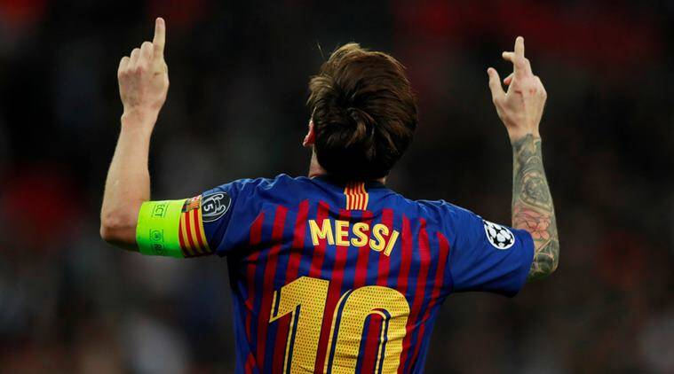 Lionel Messi has returned to the La Liga leaders' squad to play Real Betis