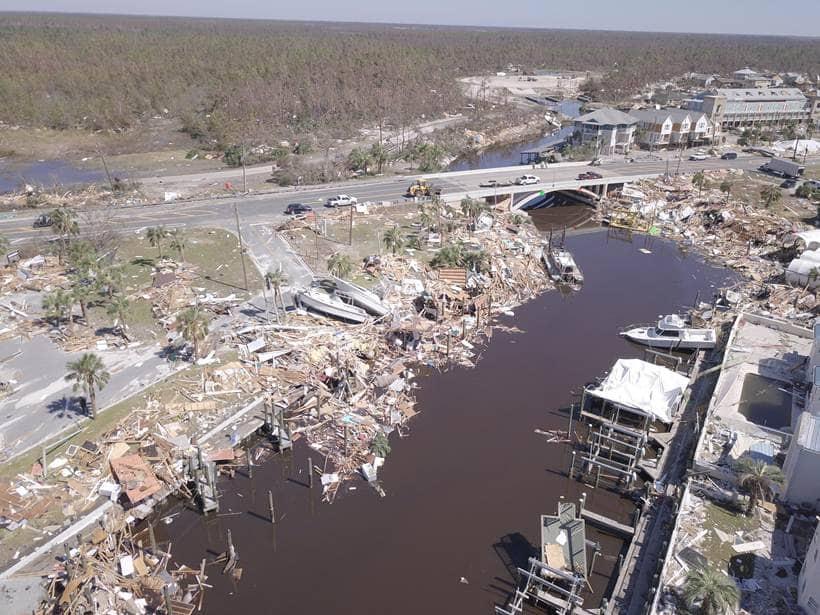 Hurricane Michael: Aerial photos show destruction in Florida