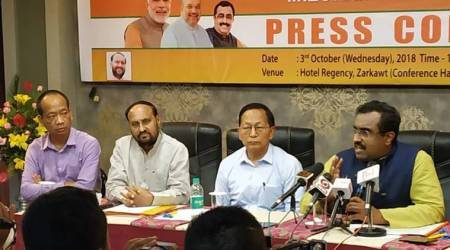 mizoram election, mizoram assembly elections, mizoram elections bjp, ram madhav mizoram elections, mizoram bjp, north east bjp, indian express, latest news