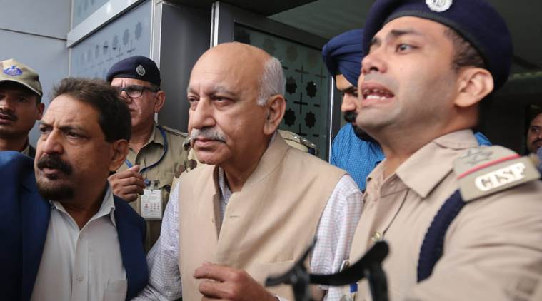 'You opened the door in your underwear':Another ex-colleague speaks out against MoS M J Akbar