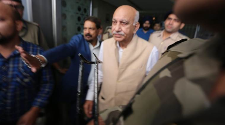 mj akbar defamation case, mj akbar sexual assault, priya ramani, priya ramani case, indian express news