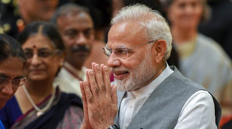 Narendra Modi, PM Modi prize, Seoul Peace Prize, Pm Modi Seoul Peace Prize 2018, India economy, GDP, demonetisation, India corruption, MEA, India news, Indian express news
