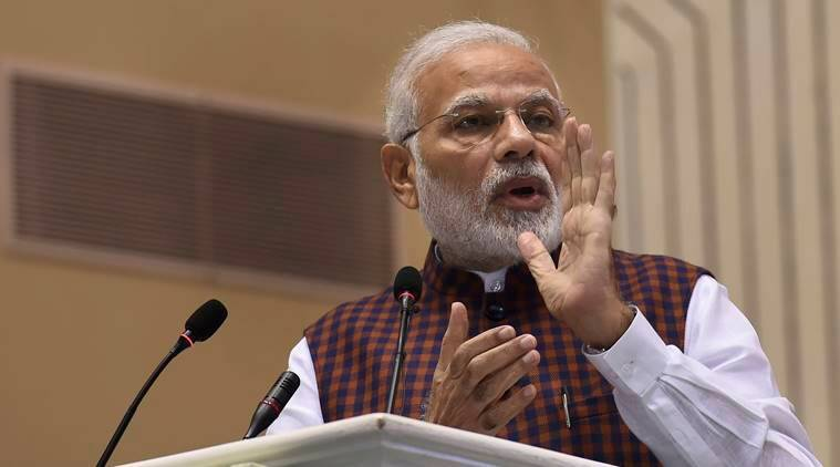 PM Modi targets rival parties, says some oppn leaders are lying machines, fire off lies like AK 47