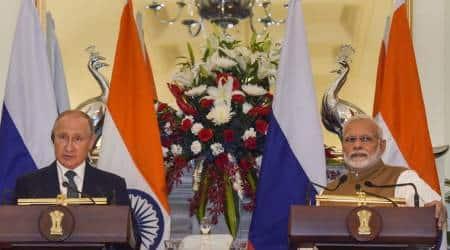 india russia summit, modi putin meeting, putin in india,, india russia business summit, indo russia summit, india russia trade, s-400 deal, india russia deal