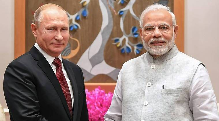 Putin, Putin in India, S-400 deal, S-400 triumph, Narendra Modi, Modi and Putin, Russia, Soviet Union, India and Russia, defence deals, India news, Indian Express