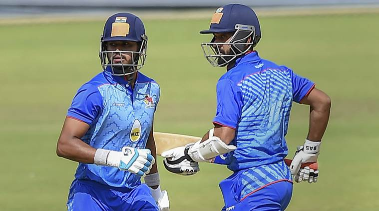 Vijay Hazare Trophy Final Mumbai vs Delhi Live Cricket Score