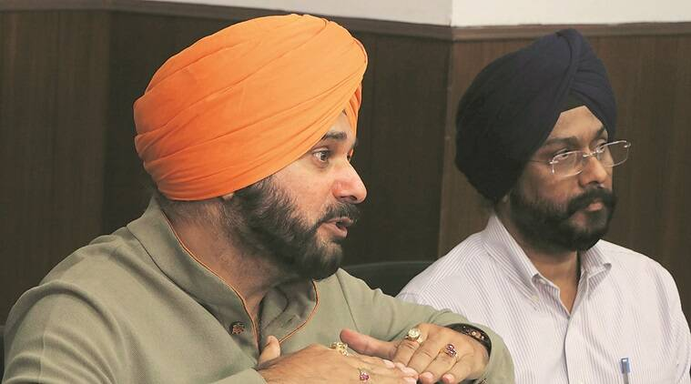Navjot Singh sidhu, jobs for the victims of grenade attack, Nirankari Bhawan blast, nirankari blast, amritsar grenade attack, amritsar blast, Nirankari Bhawan grenade attack, punjab blast, rajasani village, Punjab police, amritsar gernade attack investigation, indian express