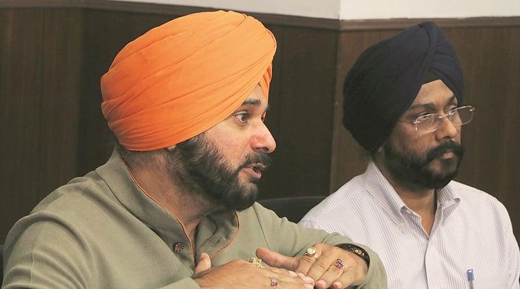 Navjot Singh sidhu, jobs for the victims of grenade attack, Nirankari Bhawan blast, nirankari blast, amritsar grenade attack, amritsar blast, Nirankari Bhawan grenade attack, punjab blast, rajasani village, Punjab police, amritsar gernade attack investigation, indian express