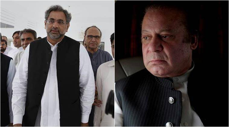 Nawaz Sharif, Abbasi, Indian Express