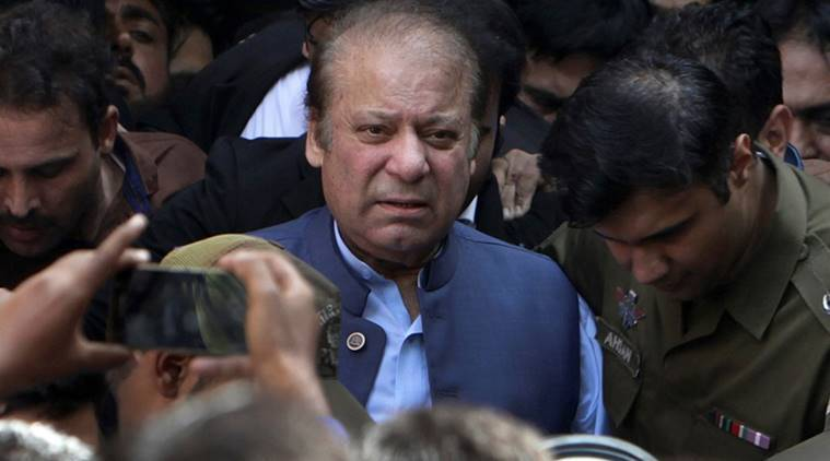 Nawaz Sharif, Nawaz Sharif Pakistan, Nawaz Sharif corruption case, Pakistan Supreme court, Nawaz Sharif case Pakistan, Indian express, latest news