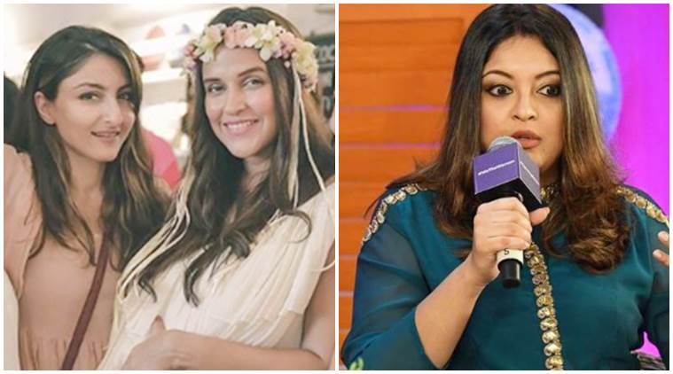 Neha Dhupia soha ali khaa on Tanushree Dutta-Nana Patekar incident