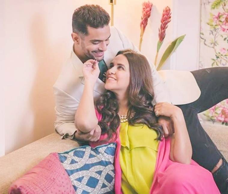 neha dhupia and angad bedi photos