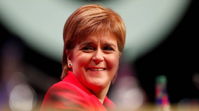 Scotland's Sturgeon says her party likely to vote against Brexit deal