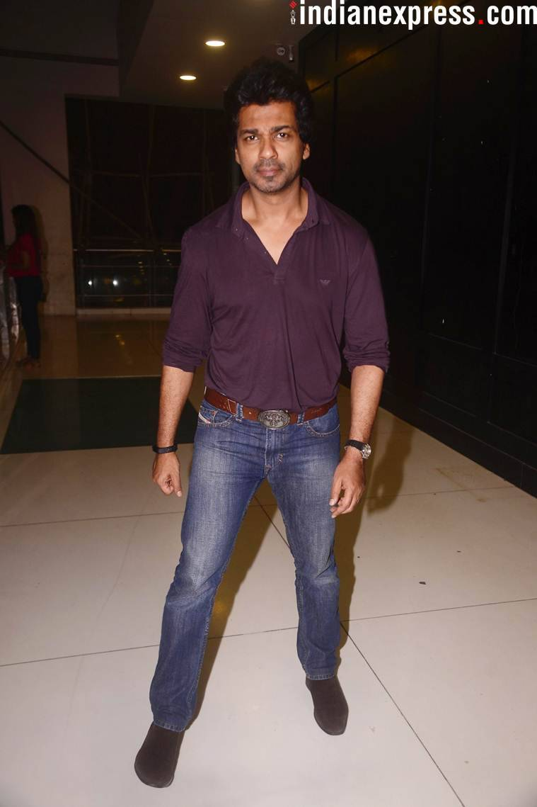 Nikhil Dwivedi at Loveyatri screening