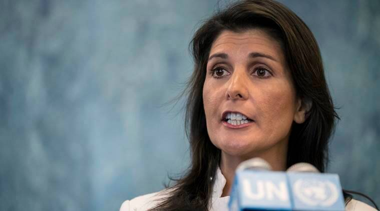 Nikki Haley book, Nikki Haley, With All Due Respect: Defending America with Grit and Grace, US Pakistan ties, Donald Trump, indian express