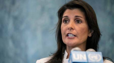 Nikki Haley, Neera Tanden, Haley on Neera Tanden, US House, Joe Biden, world news, Indian express