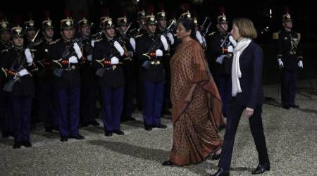 Nirmala Sitharaman holds talks with French Defence Minister FlorenceParly
