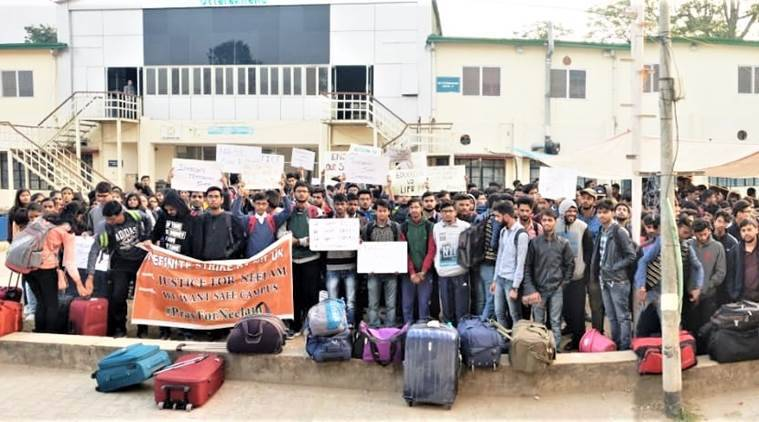 Seeking safer campus, students empty out of NIT Uttarakhand, leave for home