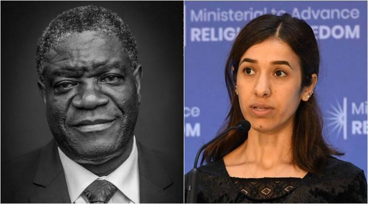 Nobel Peace Prize 2018 LIVE Updates: Denis Mukwege, Nadia Murad are the winners