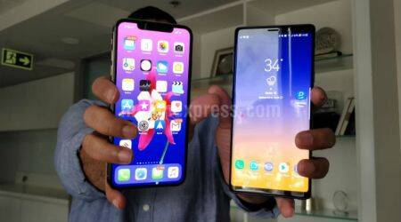 Apple iPhone XS Max, Samsung Galaxy Note 9, Apple iPhone XS Max vs Samsung Galaxy Note 9, iPhone XS Max vs Note 9, Samsung Note 9 or iPhone XS Max, iPhone XS vs Note 9, Samsung vs Apple, iPhone XS Max vs Galaxy Note 9 camera