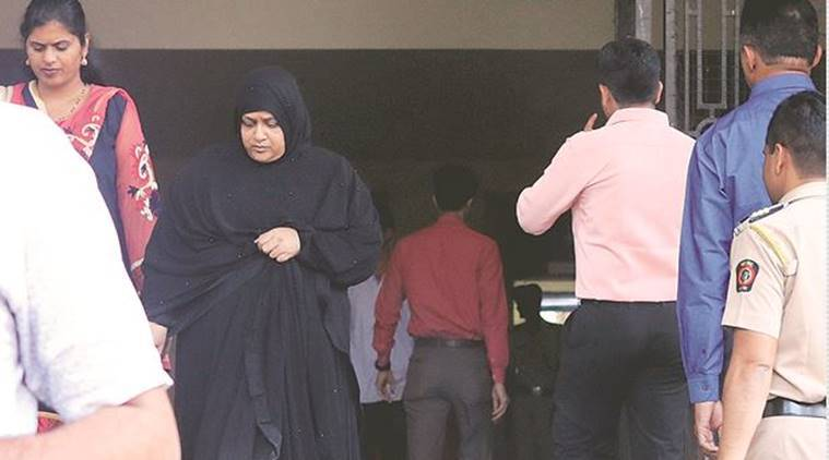 Special court extends the custody of Nowhera Shaikh, Nowhera Shaikh custody extended, Economic Offences Wing, Mumbai Police, Indian Express,