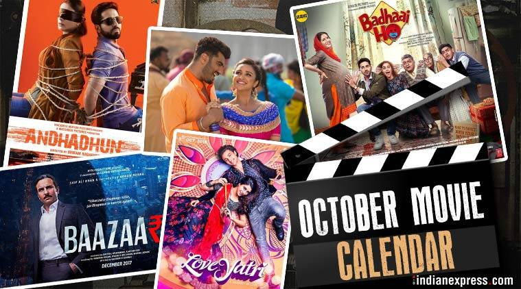 Andhadhun Loveyatri Namaste England And Other Bollywood Movies In