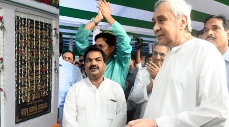 Naveen Patnaik lays foundation stone of Odia University