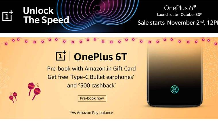 Amazon Great Indian Festival sale, Great Indian Festival 2018 sale date, OnePlus 6T pre booking Amazon, Great Indian Festival 2018 Echo offers, Huawei Nova 3i, Amazon deals, Great Indian Festival 2018 deals today, Vivo V9 Pro, Amazon Echo Spot, Great Indian Festival October 2018, OnePlus 6 discounts, Great Indian Festival sale top deals, Amazon Echo Dot sale, Great Indian Festival sale offers today, Amazon offers, mobile discounts on Amazon, Amazon Great Indian Festival 2018