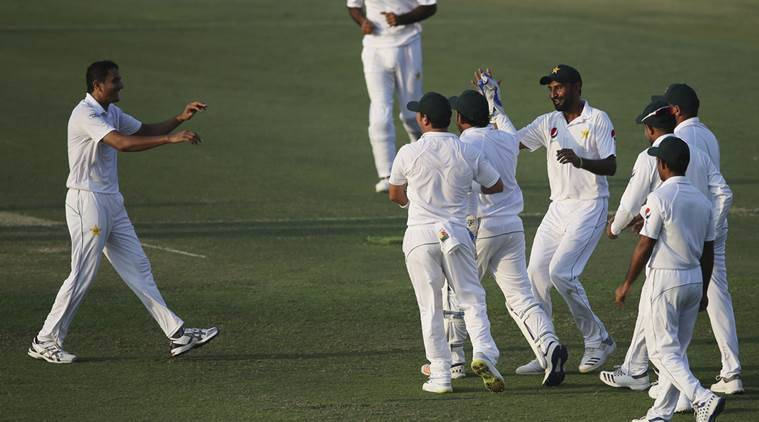 Pakistan belts Australia to claim second test, UAE series