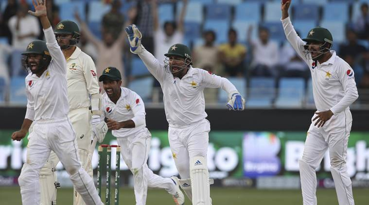 Australia 20-2 in reply to Pakistan's 282 in Abu Dhabi Test