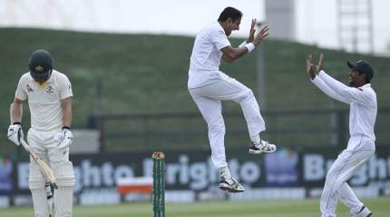 Abbas lead Pakistan to Test series win over Australia