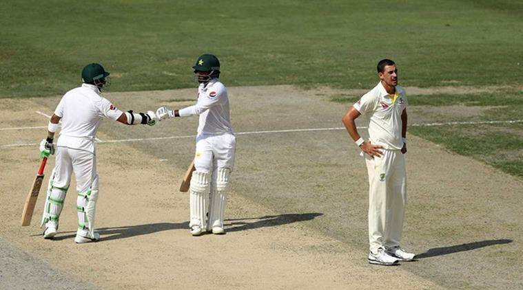 Pakistan vs Australia 1st Test Day 2 Live