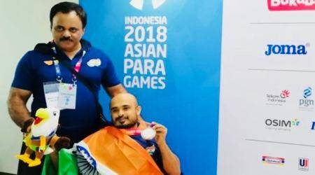 Para Asian Games 2018: India win five medals on opening day