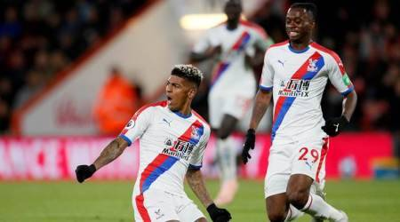 WATCH: Patrick van Aanholt scores brilliant goal for Crystal Palace, but was he offside?