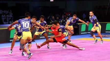 Pro Kabaddi 2018 Highlights: Bengaluru Bulls 48-37 Tamil Thalaivas, U Mumba 39-32 Jaipur Pink Panthers