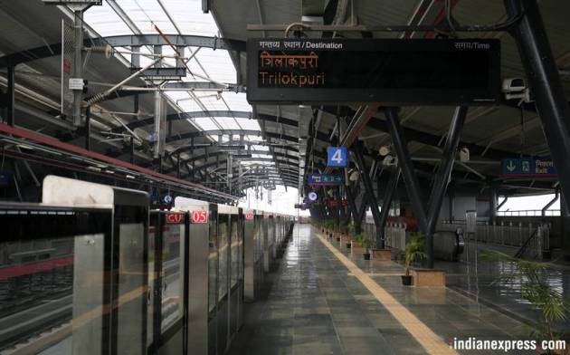 A sneak peek into Delhi Metro's new Pink Line section from Shiv Vihar to Trilokpuri