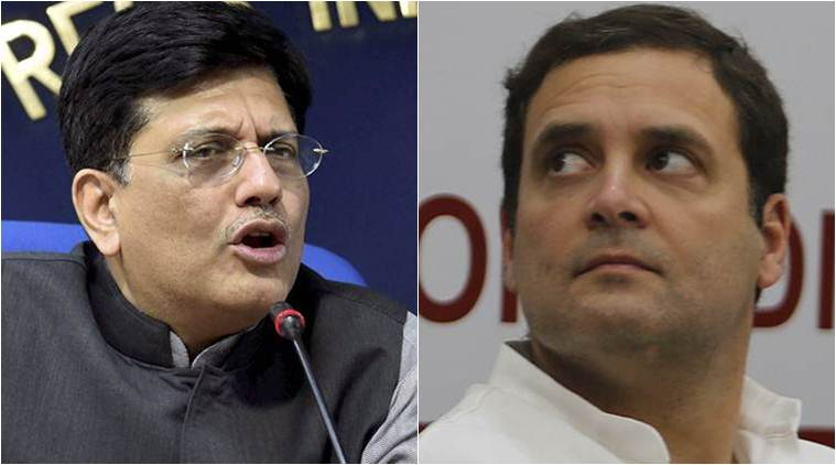 Rahul Gandhi a serial liar spreading falsehood: Piyush Goyal on Rafale charges